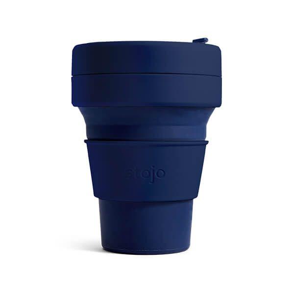 Stojo Brooklyn Denim Collapsible Mini Cup 8oz/235ml