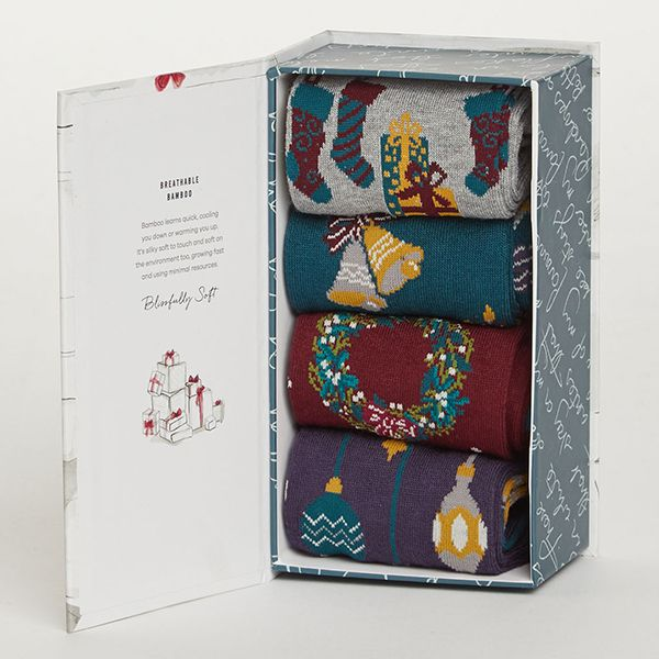 Thought Christmas Eve Sock Box