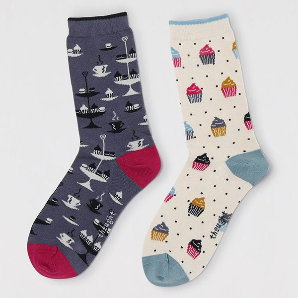 Thought Multi Delphie Afternoon Tea Sock Pack