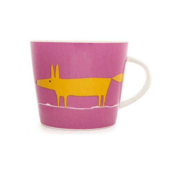 Scion Living Mr Fox Pink & Orange 350ml Mug