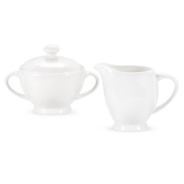 Royal Worcester Serendipity White Sugar and Cream Set