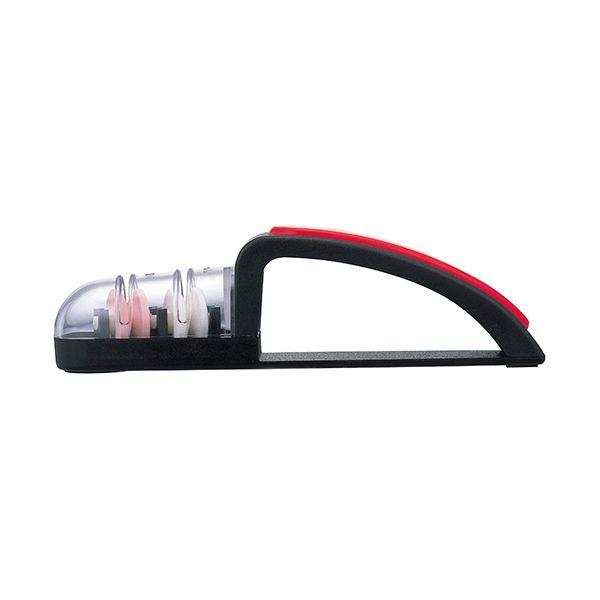MinoSharp Shinkansen Sharpener Black & Red