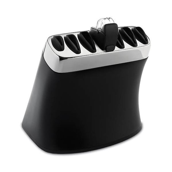 Robert Welch Signature ABS Knife Block with Sharpener (Block Only)