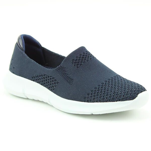 Heavenly Feet Holly Navy Ath-Leisure Comfort Shoes