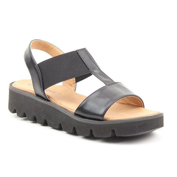 Heavenly Feet Ritz Black Premium Sandals