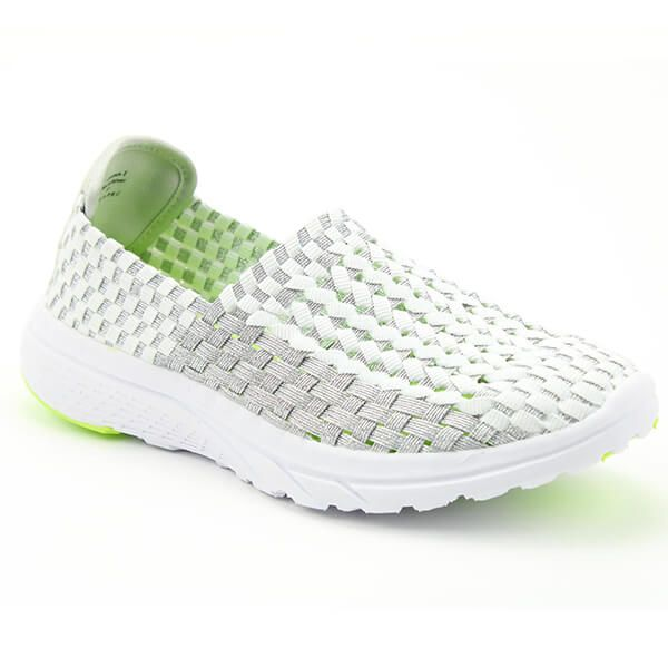 Heavenly Cosmos White/Silver Ath Leisure Comfort Shoes