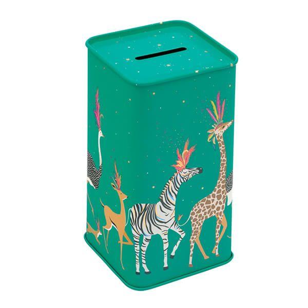 Sara Miller Animal Parade Tall Money Box