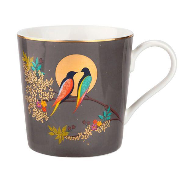 Sara Miller Chelsea Collection Dark Grey Mug