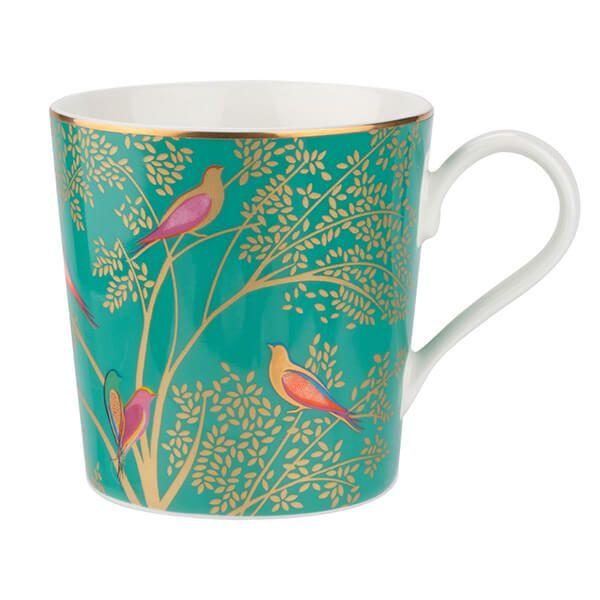 Sara Miller Chelsea Collection Green Mug