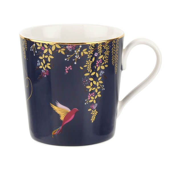 Sara Miller Chelsea Collection Navy Mug