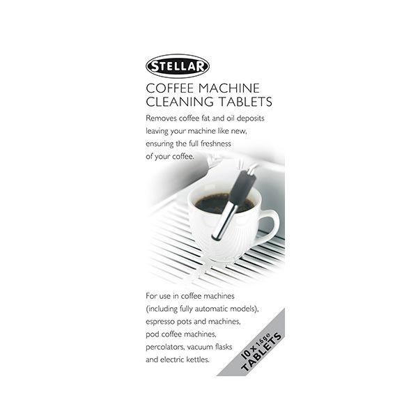 Stellar Coffee Machine Cleaning Tablets