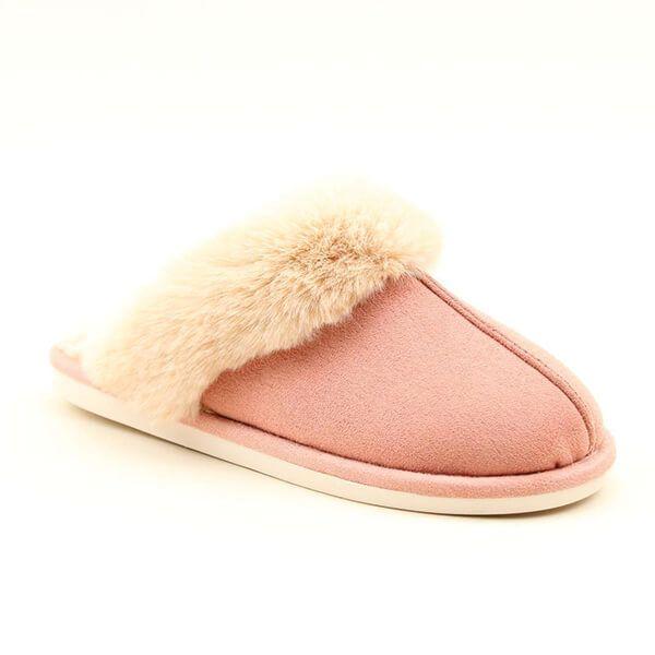 Heavenly Feet Fireside Pink Slippers