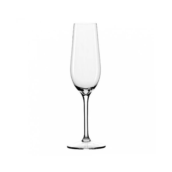 Dartington Crystal Set Of 6 Champagne Flute Glasses
