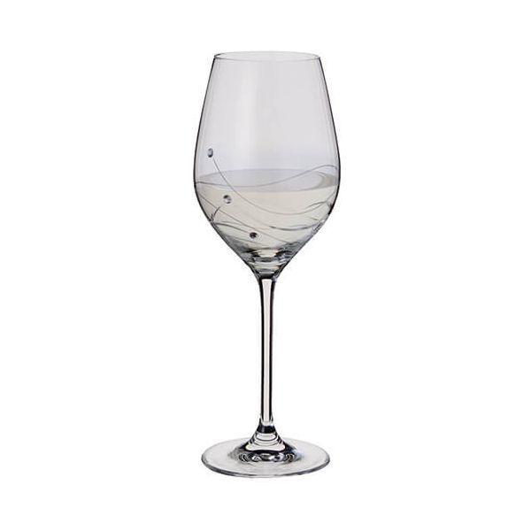 Dartington Glitz Swarovski Elements Wine Glass