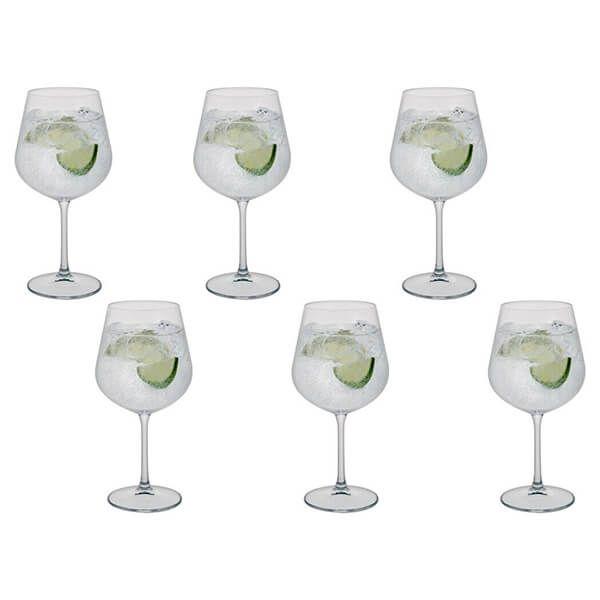 Dartington Select Set Of 6 Gin Copa Glasses
