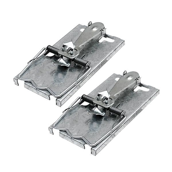 The Big Cheese Ultra Power All-Metal Selfset Mouse Trap Pack Of 2