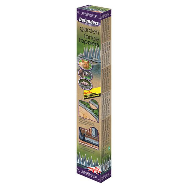 Defenders Prickle Strip Garden Fence Toppers Pack Of 6