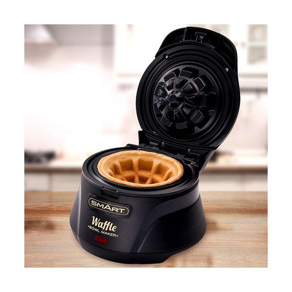 Smart Waffle Bowl Maker Black