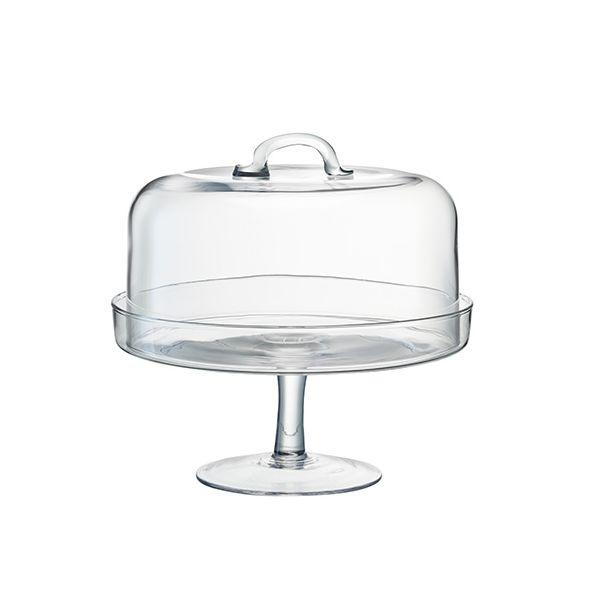 LSA Serve Cakestand & Dome Dia: 26.5 / 25cm