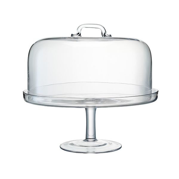 LSA Serve Cakestand & Dome Dia: 34.5 / 32cm