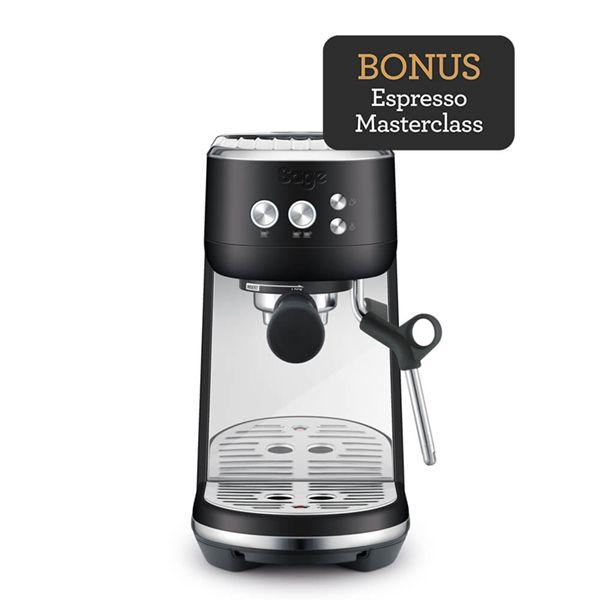 Sage The Bambino Black Truffle Coffee Machine