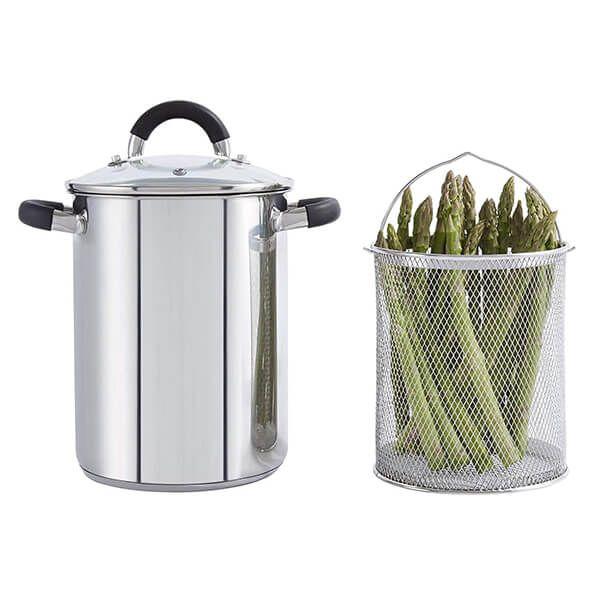 Tower Essentials 16cm Asparagus Steamer