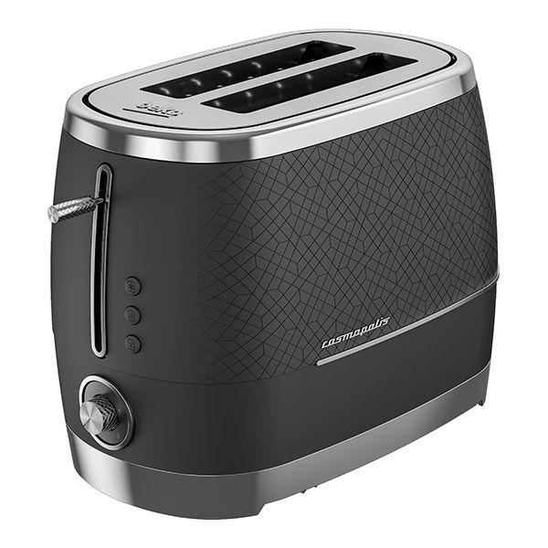 Beko Black & Chrome Cosmopolis 2 Slot Toaster