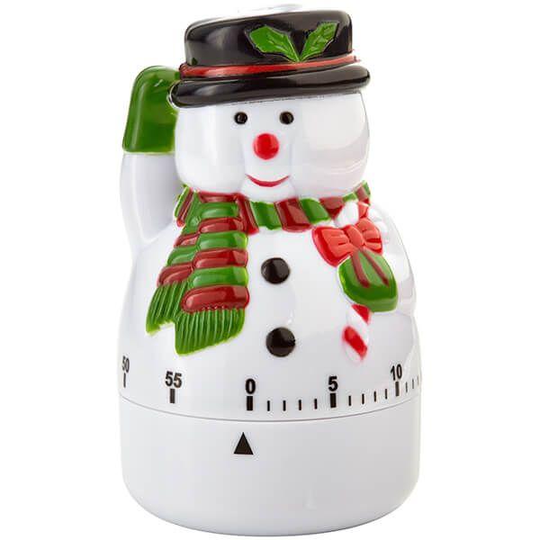 Judge Snowman Kitchen Timer