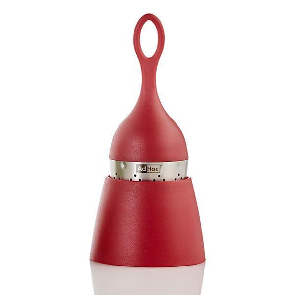Adhoc FLOATEA Tea Infuser Red