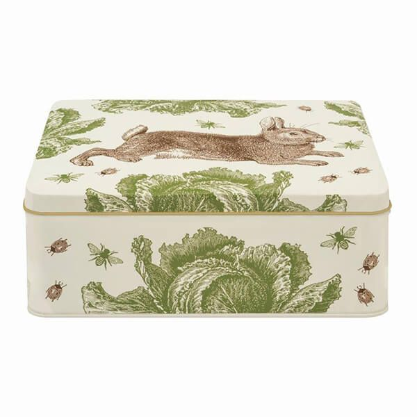 Thornback & Peel Rabbit & Cabbage Deep Rectangular Tin