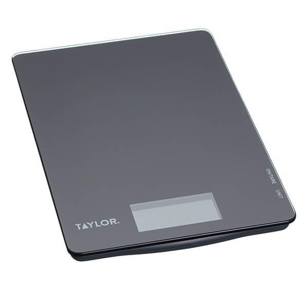 Taylor Pro Black Glass 5kg Digital Dual Kitchen Scale