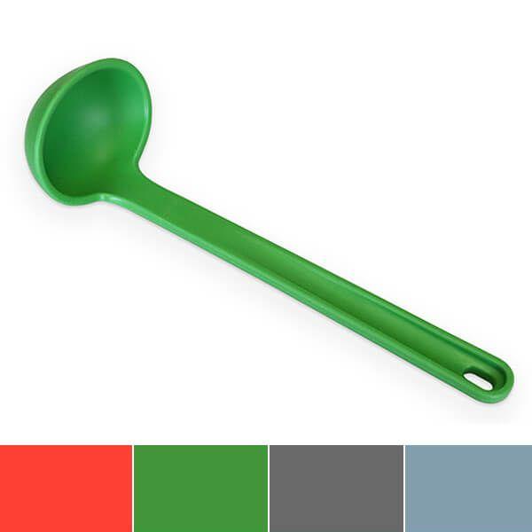 Venn Silicone Ladle Green