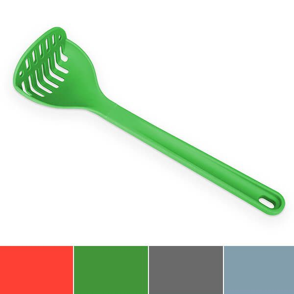 Venn Silicone Masher Green