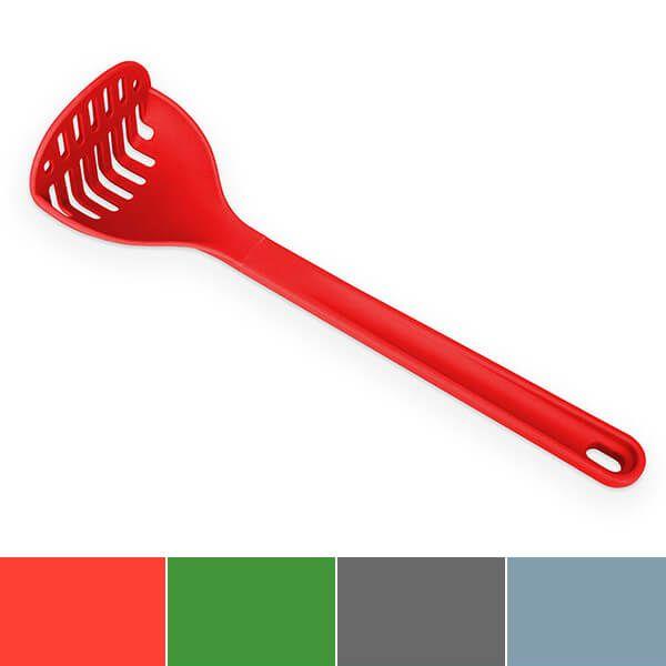 Venn Silicone Masher Red