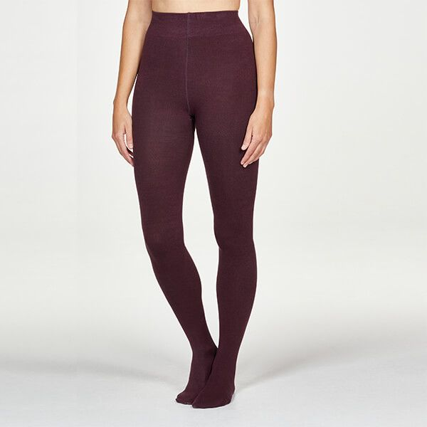 Thought Merlot Red Elgin Tights
