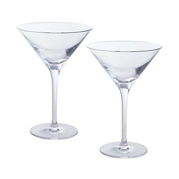 Dartington Wine & Bar Set Of 2 Martini Glasses