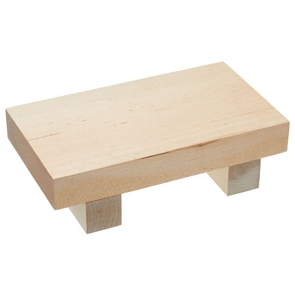 World Of Flavours Wooden Sushi Serving Board 21 x 12cm