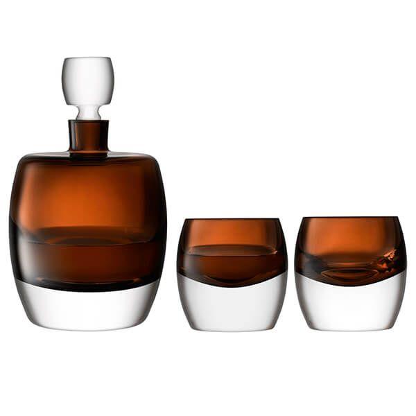 LSA Whisky Club Whisky Set Peat Brown