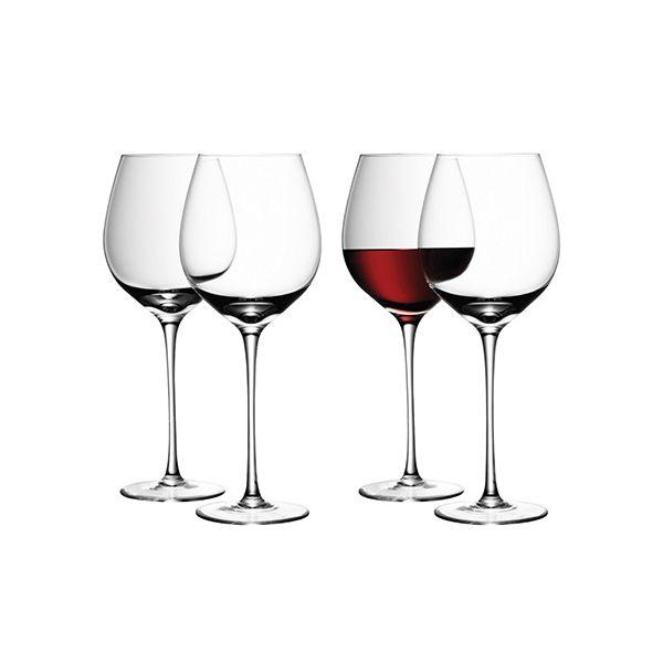 LSA Wine Red Wine Glass 550ml Set Of Four