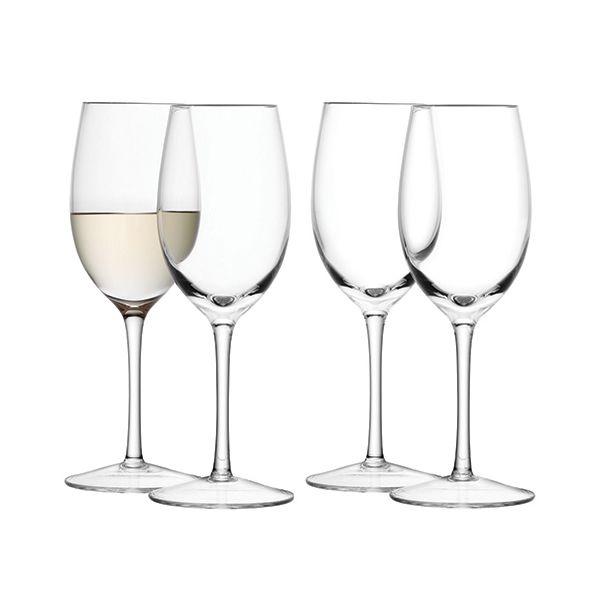 LSA Wine White Wine Glass 260ml Set Of Four