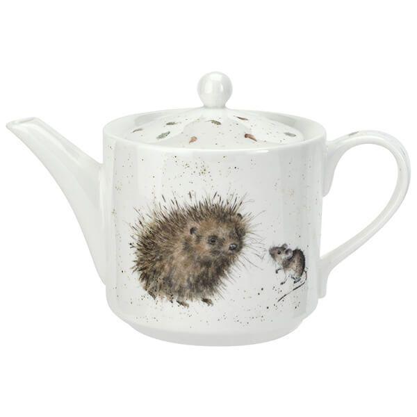 Wrendale Designs Hedgehog & Mice Teapot