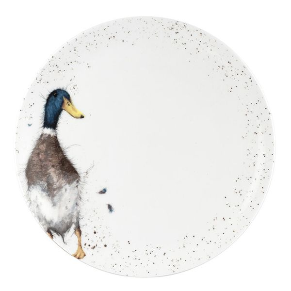 Wrendale Designs 10.5 Inch Coupe Plate Duck