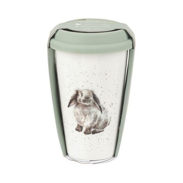 Wrendale Designs Travel Mug Rabbit 6 for 5