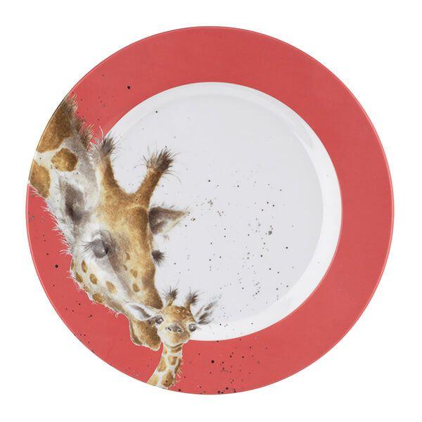 Wrendale Designs Melamine Giraffe Side Plate