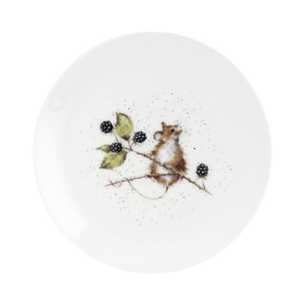 Wrendale Designs 8 Inch Coupe Plate Mouse