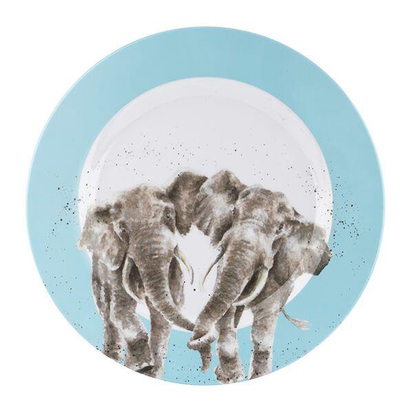 Wrendale Designs Melamine Elephant Dinner Plate