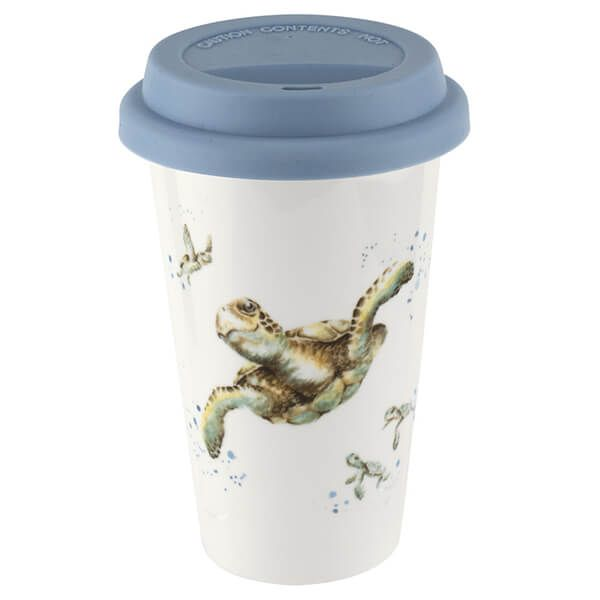 Wrendale Designs Travel Mug Turtle