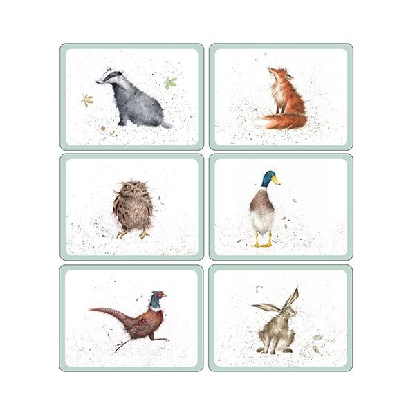 Wrendale Designs Placemats Set Of 6