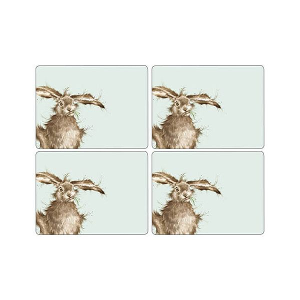Wrendale Designs Hare Placemats Set Of 4