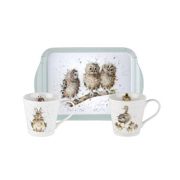 Wrendale Designs Mug & Tray Set 6 for 5